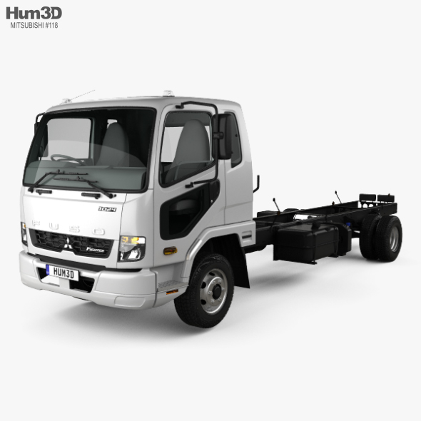 Mitsubishi Fuso Fighter (1024) Chassis Truck with HQ interior 2017