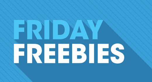 Friday Freebies - 19 April 2019