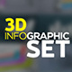 3D Infographics Set - VideoHive Item for Sale