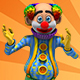 Circus Clown Chicken Dance - VideoHive Item for Sale