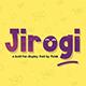 Jirogi Font - GraphicRiver Item for Sale