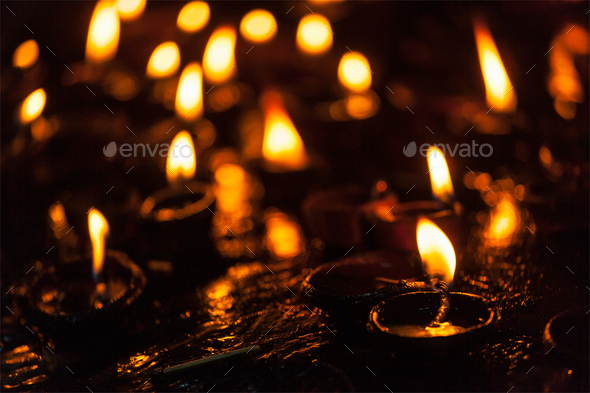 Diwali lights - Stock Photo - Images