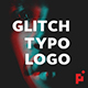 Glitch Typo Logo - VideoHive Item for Sale