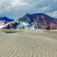 Sand dunes in Himalayas. Hunder, Nubra valley, Ladakh - PhotoDune Item for Sale