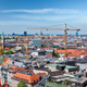 Aerial view of Munich with construction site - PhotoDune Item for Sale