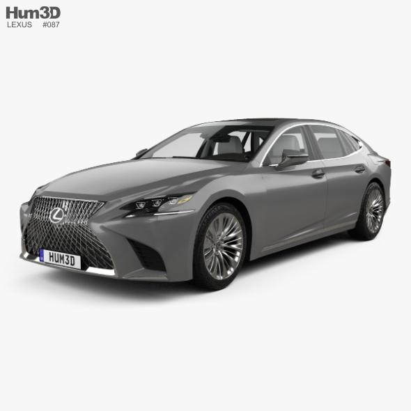 Lexus LS (XF50) with HQ interior 2017
