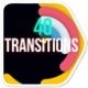 Minimal Colorful Transitions - VideoHive Item for Sale