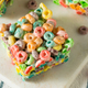 Homemade Fruit Cereal Marshmallow Treat - PhotoDune Item for Sale