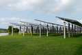 Solar panels on the grass - PhotoDune Item for Sale
