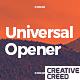 Universal Short Opener - VideoHive Item for Sale