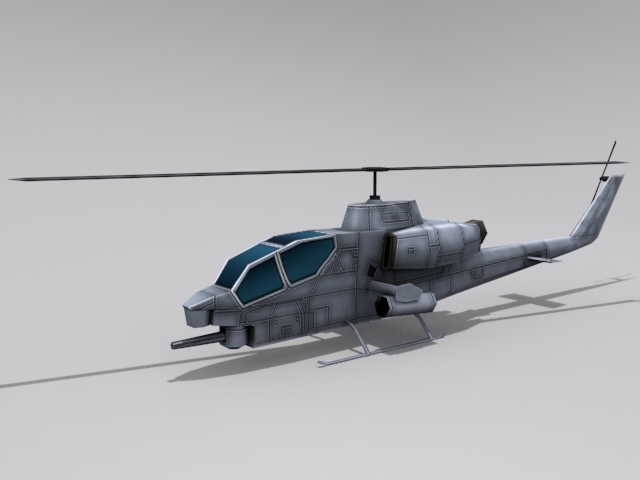 AH-1 Cobra - 3DOcean Item for Sale