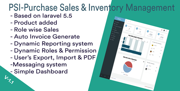 PSI-Purchase Sales & Inventory-management System