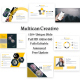 Multican Creative Keynote Template - GraphicRiver Item for Sale