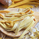 Fresh pasta homemade preparation, closeup view, banner - PhotoDune Item for Sale
