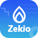 Zekio - App & Sass Landing PSD Template