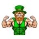Leprechaun Sports Mascot Cartoon Character - GraphicRiver Item for Sale