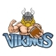 Viking American Football Sports Mascot - GraphicRiver Item for Sale
