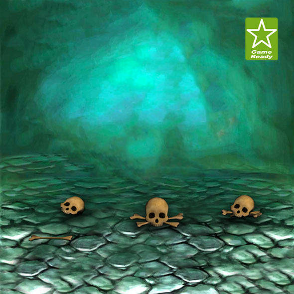Skulls - 3DOcean Item for Sale