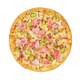 Pizza top view isolated - PhotoDune Item for Sale