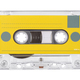 Audio tape compact cassette isolated - PhotoDune Item for Sale