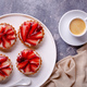Cupcakes with strawberries and coffee - PhotoDune Item for Sale