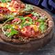 Prosciutto and quail eggs pizzetta - PhotoDune Item for Sale
