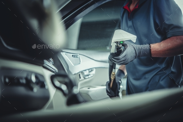 Professional Car Cleaning - Stock Photo - Images