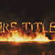 Fire Titles Mogrt - VideoHive Item for Sale