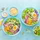Buddha bowl with boiled egg, rice - PhotoDune Item for Sale