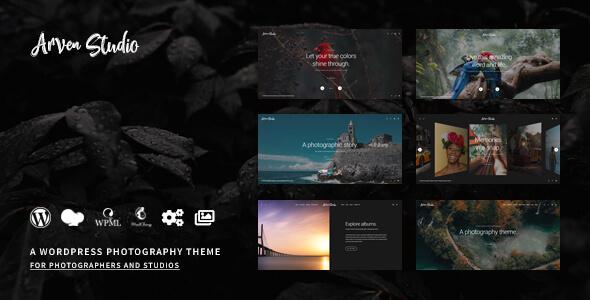 Arven - WordPress Photography Theme for Photographer and Photo Studio