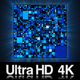 4K Data Information from Microprocessor CPU Chip - VideoHive Item for Sale