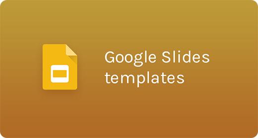 Google Slides Templates