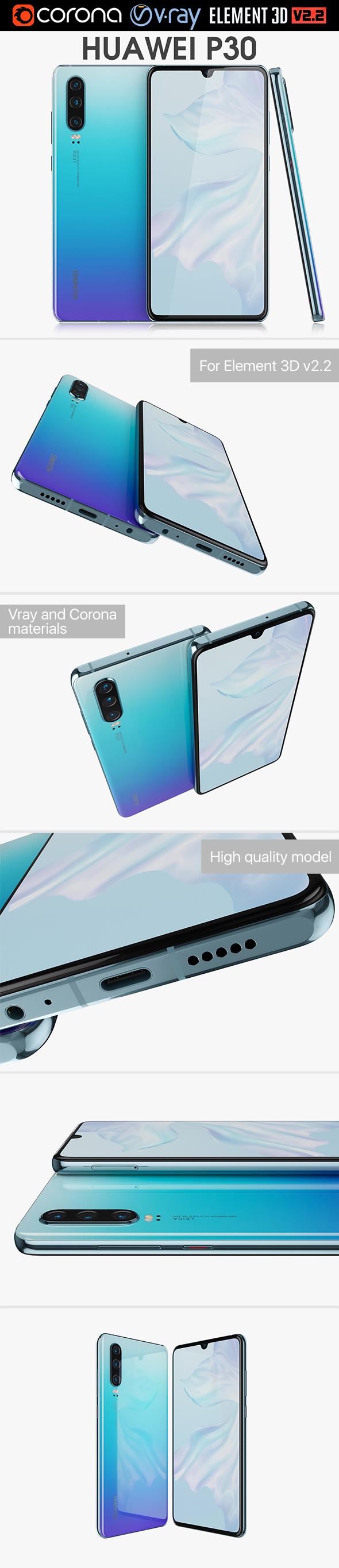 Huawei P30 Breathing Crystal