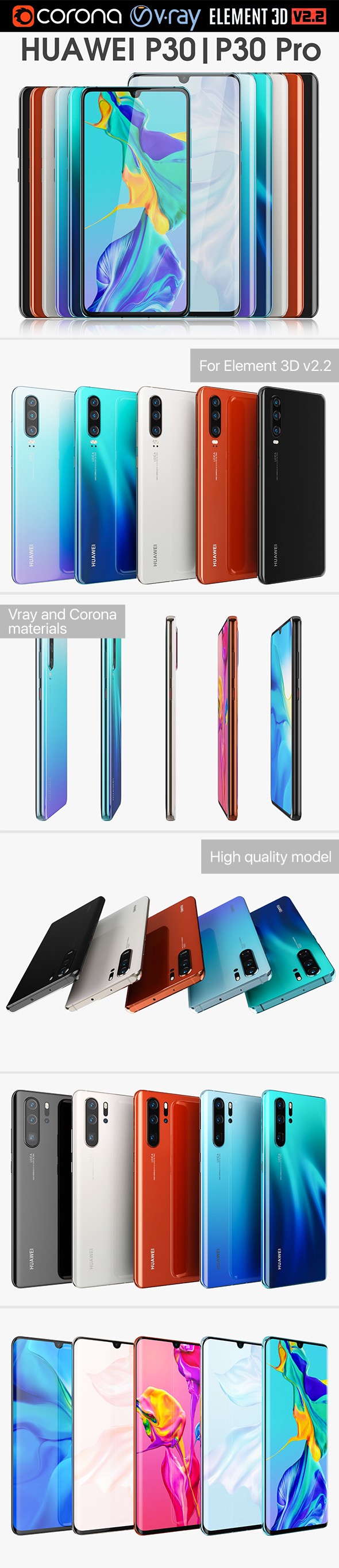 Huawei P30 and P30 Pro Collection