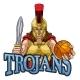 Spartan Trojan Gladiator Basketball Warrior Woman - GraphicRiver Item for Sale