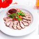 Tasty sliced roast duck breast with fresh vegetable salad and with cranberry sauce. Peking duck - PhotoDune Item for Sale