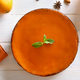 Pumpkin pie, top view - PhotoDune Item for Sale
