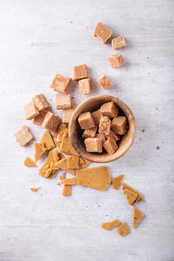 Handmade crumbly fugde - Stock Photo - Images