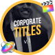 30 Corporate Titles | FCPX - VideoHive Item for Sale