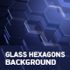 Glass Hexagon Background - VideoHive Item for Sale
