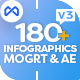 Simple Flat Infographics Bundle - VideoHive Item for Sale