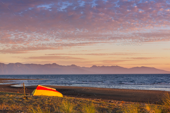 Chile coast - Stock Photo - Images