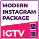 Modern Motion Pack for IGTV Instagram - VideoHive Item for Sale