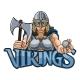 Viking Trojan Celtic Knight Golf Warrior Woman - GraphicRiver Item for Sale