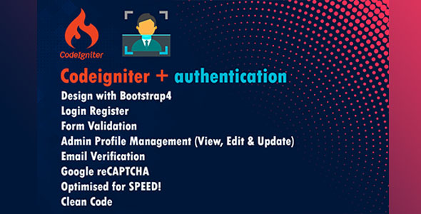 codeigniter authentication