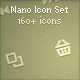 Nano Icon Set - GraphicRiver Item for Sale