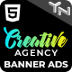Creative Agency - Animated HTML5 Banner Ad Templates (GWD) - CodeCanyon Item for Sale