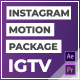 IGTV – Instagram Motion Pack - VideoHive Item for Sale