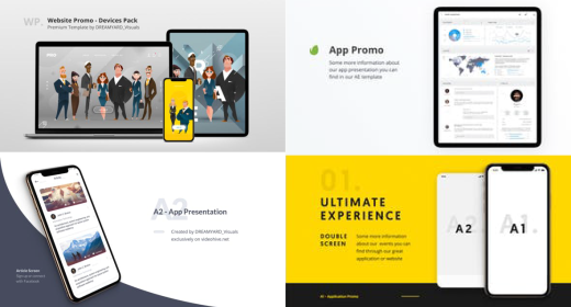 App, Web, Service Promo