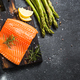 Salmon fillet with fresh vegetables and spices - PhotoDune Item for Sale